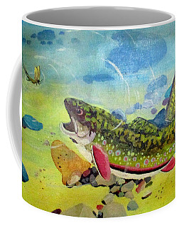 Hungry Trout Coffee Mug