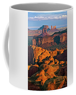 Hunts Mesa Sunrise Coffee Mug