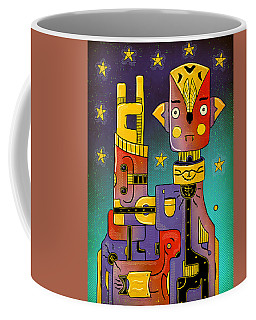Coffee Mug featuring the photograph I Come In Peace - Heavy Metal by Sotuland Art