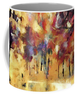 Coffee Mug featuring the mixed media I Dream Of Fall by Susan Maxwell Schmidt