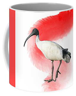 I Is For Ibis Coffee Mug
