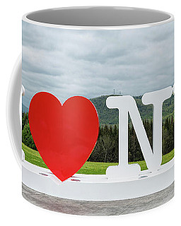 I Love New York Sign Coffee Mug