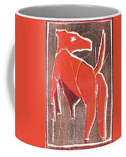 I Was Born In A Mine Dog 29 Coffee Mug