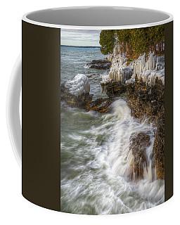 Ice And Waves Coffee Mug