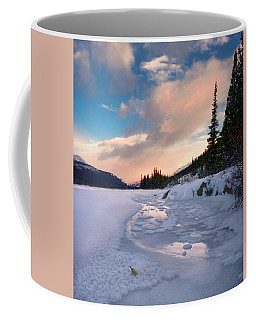 Icefields Parkway Winter Morning Coffee Mug