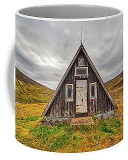 Iceland Chalet Coffee Mug