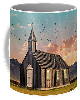Iceland Chapel Coffee Mug