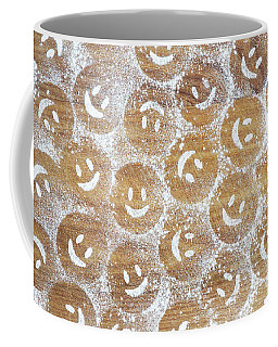 Icing Sugar Smiley Faces Coffee Mug