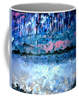 Icy Lake Coffee Mug