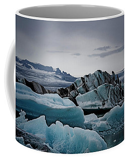 Icy Stegosaurus Coffee Mug