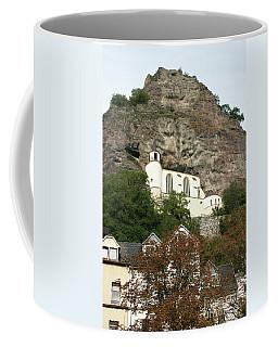 Coffee Mug featuring the photograph Idar-oberstein Felsenkirche by PJ Boylan