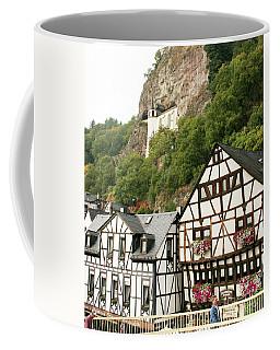 Coffee Mug featuring the photograph Idar-oberstein-view On A Bridge by PJ Boylan