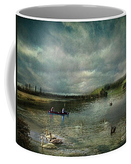 Idyllic Swans Lake Coffee Mug