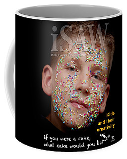 Coffee Mug featuring the digital art If You Were A Cake by ISAW Company