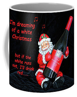 Coffee Mug featuring the photograph I'll Drink Red At Christmas by Kay Brewer