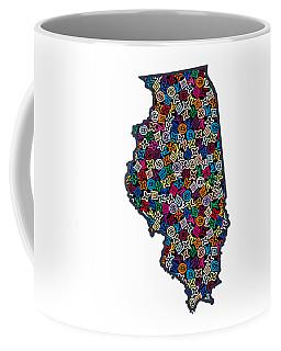 Illinois Map - 1 Coffee Mug