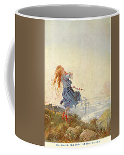 Illustration For The Red Shoes Coffee Mug
