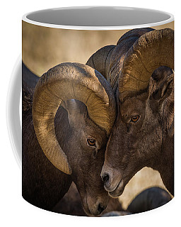 I'm Gonna Lean Up Against You, You Just Lean Right Back Against Me. Coffee Mug