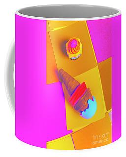 In Bubblegum Tones Coffee Mug