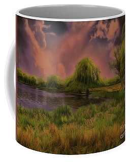 Coffee Mug featuring the photograph In My Element by Leigh Kemp
