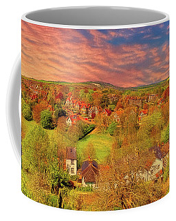 Coffee Mug featuring the photograph In Our English Towns by Leigh Kemp
