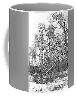In Praise Of Willows 4 Bw Coffee Mug