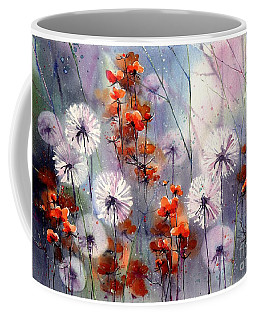 In The Night Garden - Orange Sparkles Coffee Mug