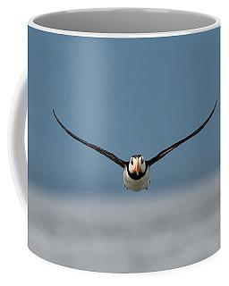 Incoming Puffin Coffee Mug