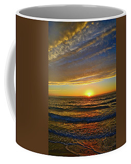 Coffee Mug featuring the photograph Incredible Sunrise Over The Atlantic Ocean by Lynn Bauer