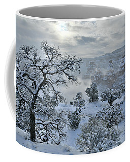Independence Canyon At Sunrise In Colorado National Monument Coffee Mug