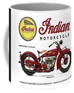 Indian 101 Scout - 1928  Coffee Mug