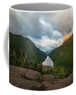 Coffee Mug featuring the photograph Indian Head Sunrise by Brad Wenskoski