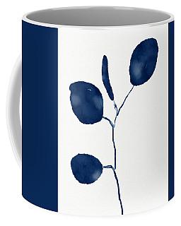 Indigo Eucalyptus 2- Art By Linda Woods Coffee Mug