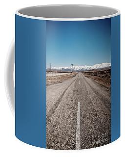 infinit road in Turkish landscapes Coffee Mug