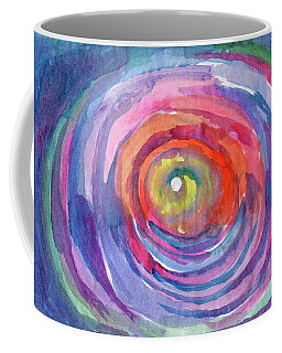 Coffee Mug featuring the painting Infinity Abstraction by Dobrotsvet Art