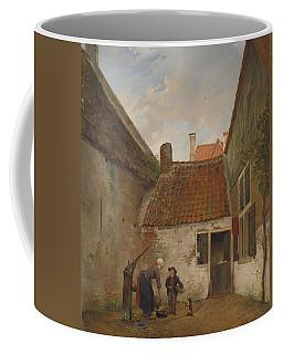 Inner Courtyard. Coffee Mug