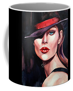 Coffee Mug featuring the painting Inner Light by Michal Madison