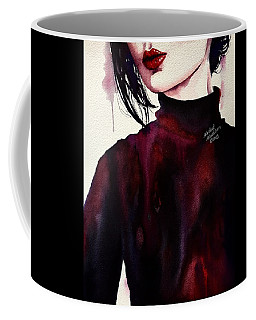 Coffee Mug featuring the painting Inside My Heart by Michal Madison