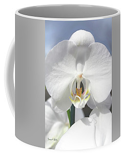 Inside The White Orchid Coffee Mug
