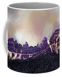 Coffee Mug featuring the digital art Inside Yellowstone by Mike Braun