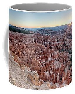 Inspiration Point Sunrise Bryce Canyon National Park Summer Solstice Coffee Mug