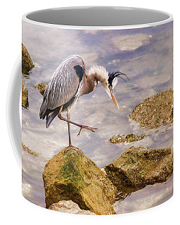Coffee Mug featuring the photograph One Step At A Time by Ola Allen