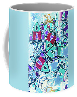 Intergalactic Abstract Coffee Mug
