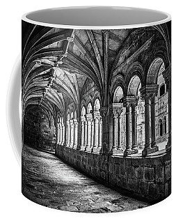 Interior Corridors Of The Monastery Of Santo Estevo De Ribas Del Sil Coffee Mug