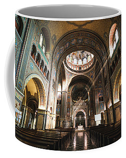 Interior Of The Votive Cathedral, Szeged, Hungary Coffee Mug