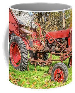 International Harvester F-cub Vintage Tractor Coffee Mug