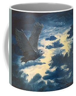 Into The Black Coffee Mug