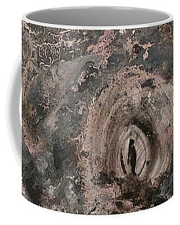 Coffee Mug featuring the painting Into The Fog by 'REA' Gallery