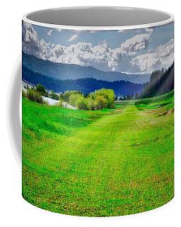 Inviting Airstrip Coffee Mug