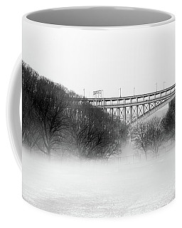 Coffee Mug featuring the photograph Inwood Hill With Fog by Cole Thompson